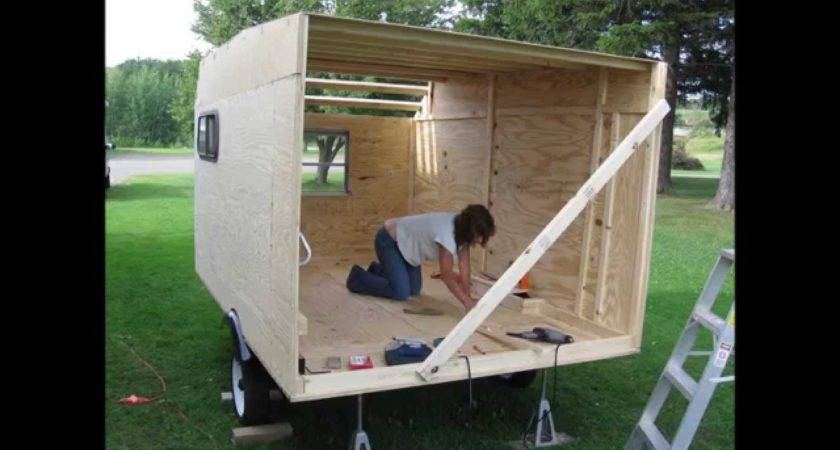Guy Built Camper Without Plans