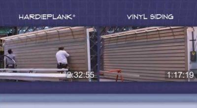Hardieplank Vinyl Siding Risk Reward Youtube