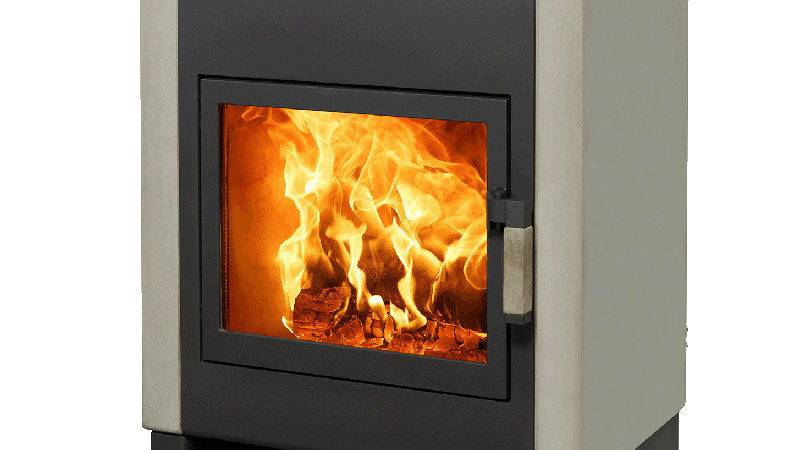 Harrie Leenders Mats Wood Burning Stove Black