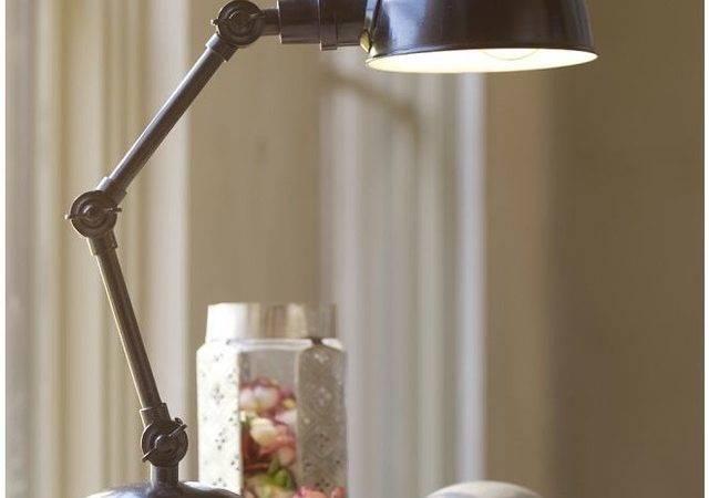Harrison Bedside Lamp Industrial Table Lamps