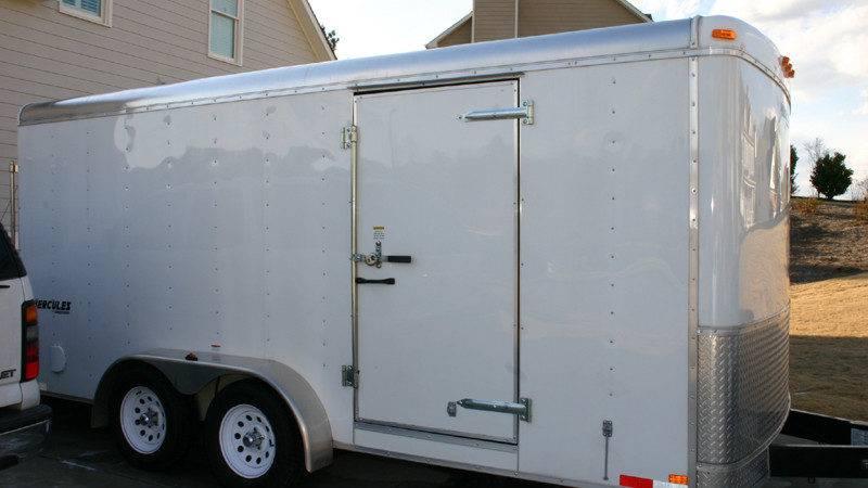 Hercules Homesteader Enclosed Trailer Lawnsite