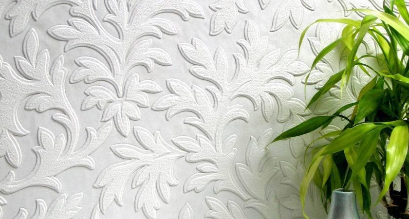 High Leaf Paintable Textured Vinyl Sample Ann