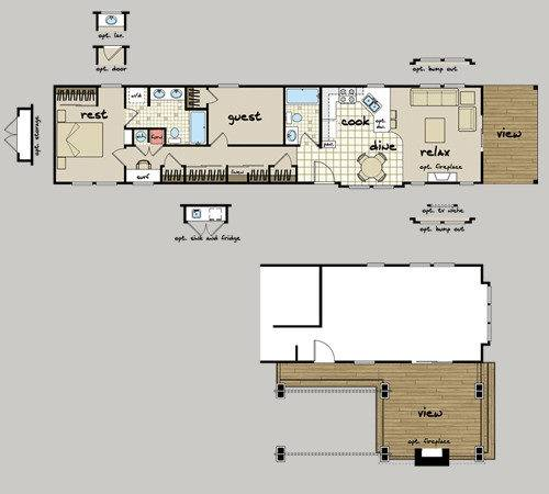 High Quality Manufactured Home Plans Mobile Floor