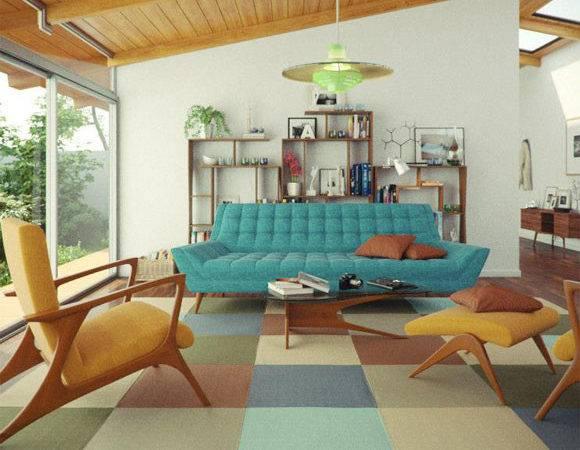 Home Decor Style Mid Century Modern