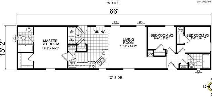 Home Design Ideas Single Wide Mobile Plans