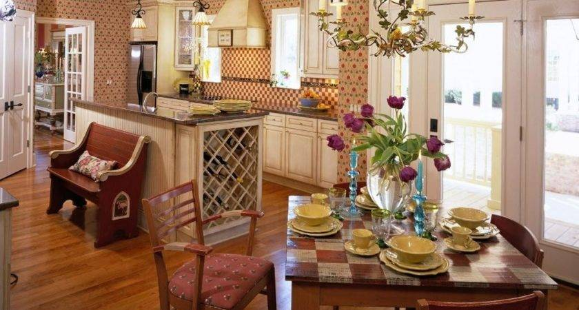 Home Design Kitchen French Country Furniture Bisque