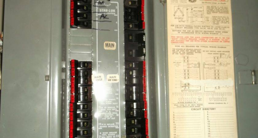 22 Fresh Replace Federal Pacific Panel