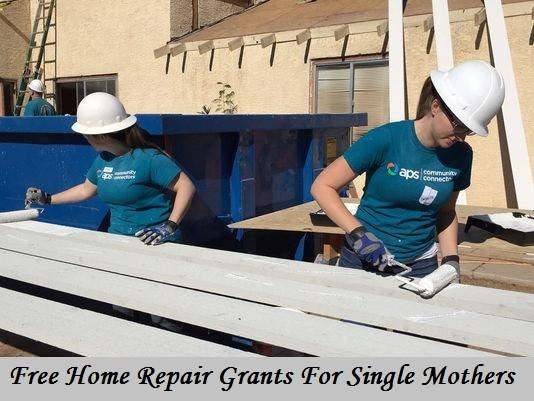 Home Improvement Grants Single Mothers Apply