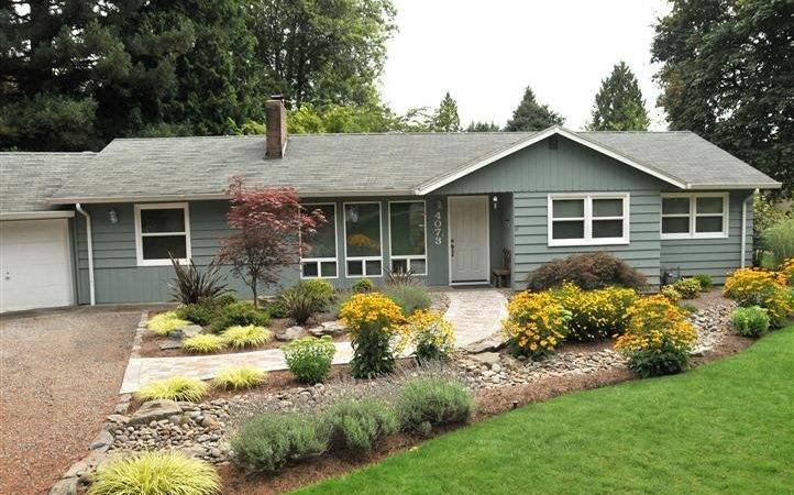Home Landscaping Ideas Front Yard Ranch