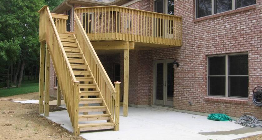 Home Plans Deck Designs
