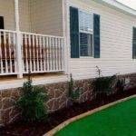 Home Skirts Rock Look Skirting Mobile Homes Bestofhouse