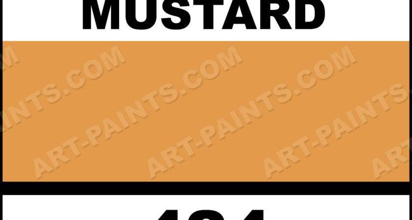 Honey Mustard Superwriters Ceramic Paints