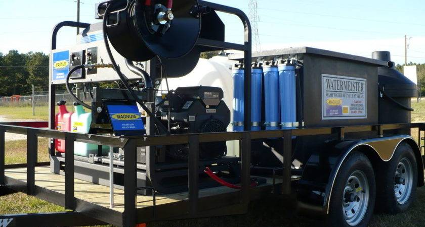 Hot Water Pressure Washer Recycling Portable System Ebay