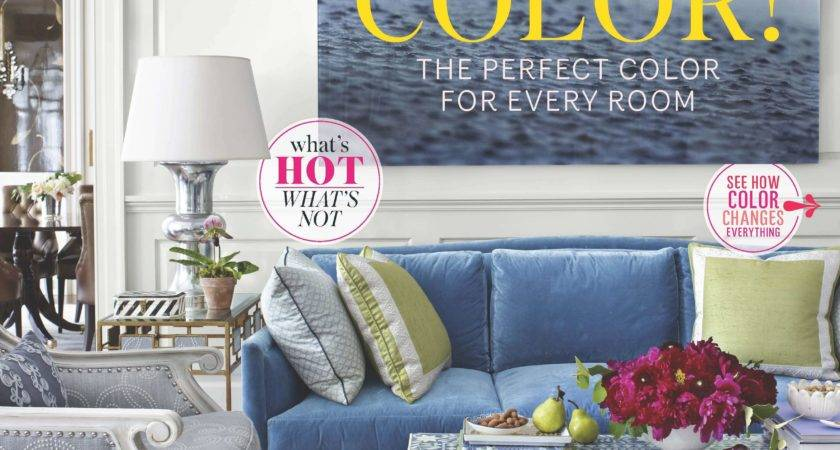 House Beautiful Report Names Blue America Favorite Color