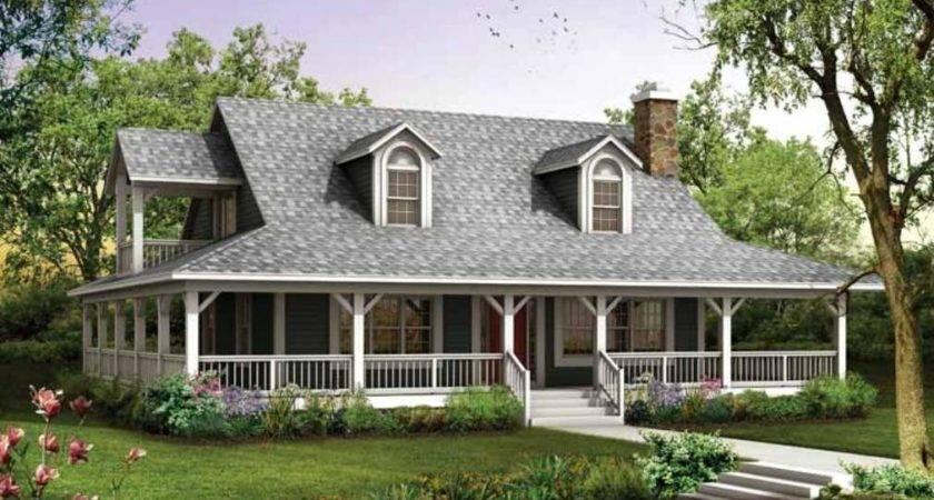 House Plans Wrap Around Porches Style