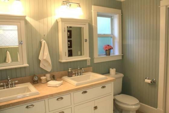 House Tour Master Bath Pleated Poppy