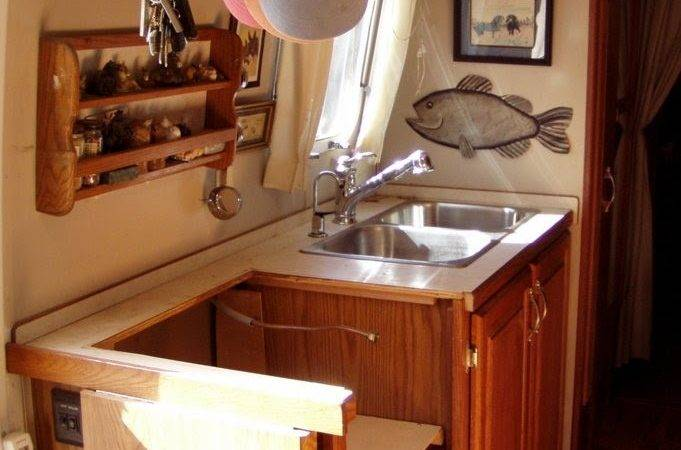 Hunter Airstream Kitchen Remodel