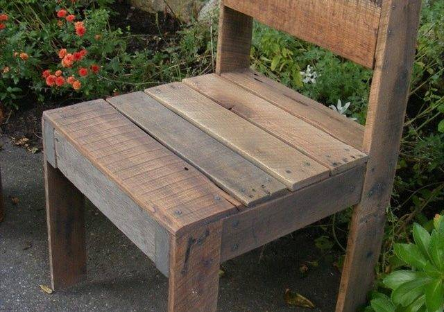 Ideas Awesome Pallet Chair Wooden Furniture