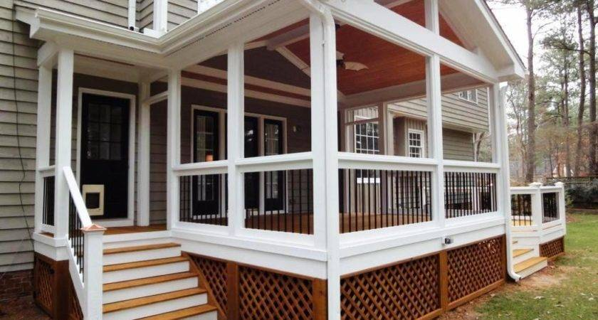 Ideas Enclose Screened Porch
