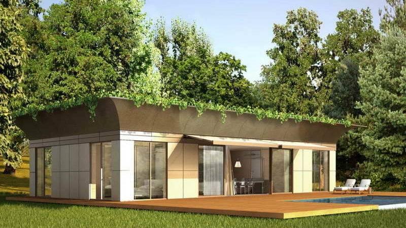 Ideas Modern Green Prefab Homes Design Aspects