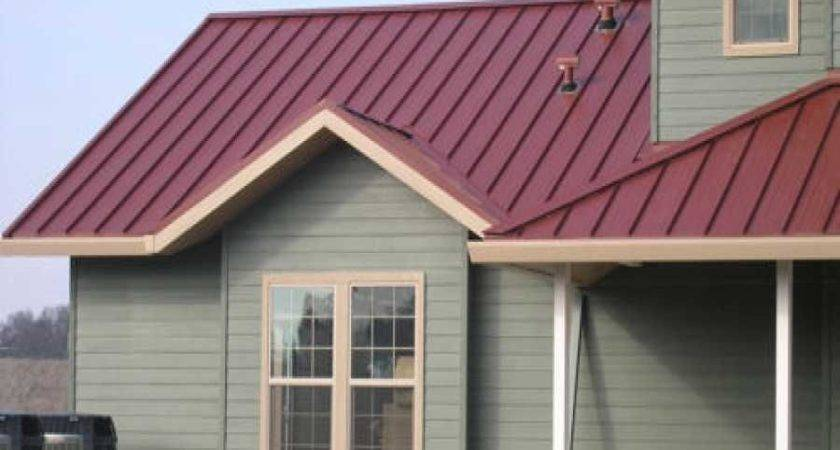 Impressive Barn Metal Roofing Houses Red