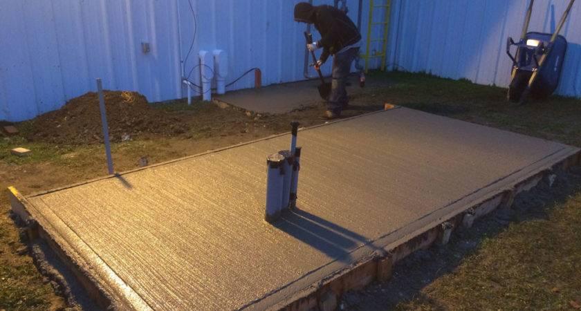 Industrial Concrete Pad Islandgeneratorco