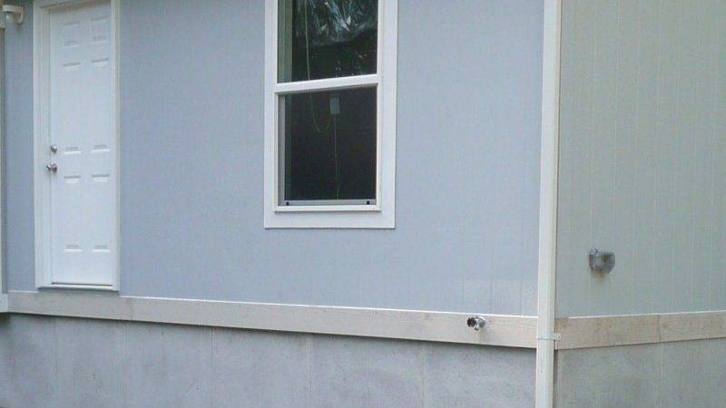 Inexpensive Mobile Home Skirting Ideas Wooden