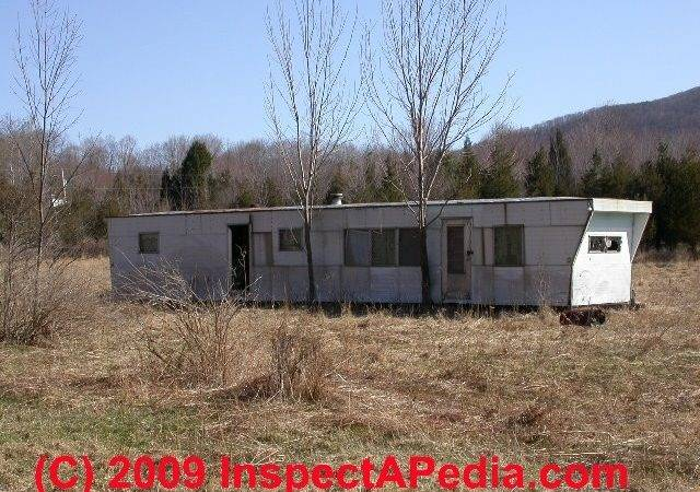 Inspect Mobile Home Doublewide Piers