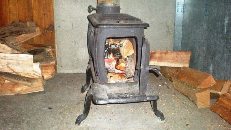 Install Clean Wood Stove Survival