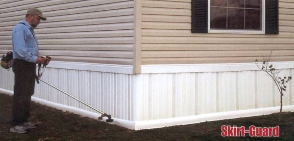Install Mobile Home Skirting Factory Homes