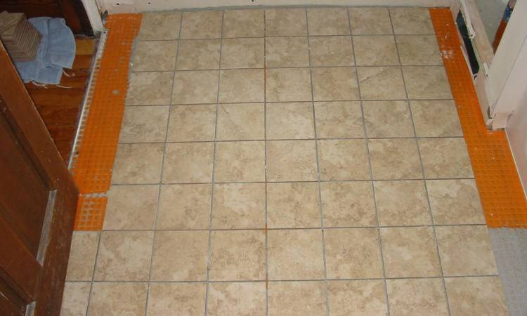 Install Sheet Vinyl Flooring Over Ceramic Tile Ehow