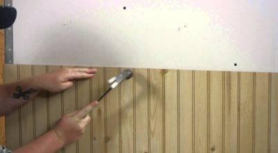 Install Wall Paneling Walls Doovi