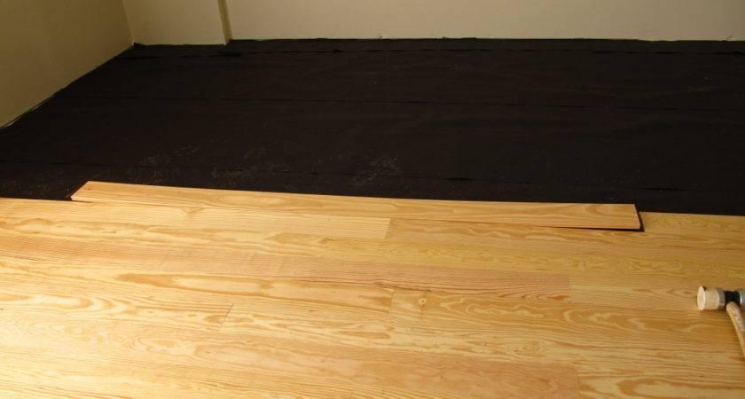 Install Warped Floor Board Twstud Musings