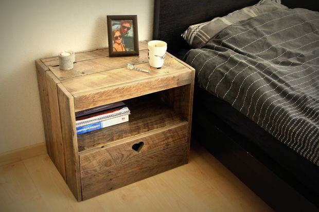 Instructions Build Bedside Table