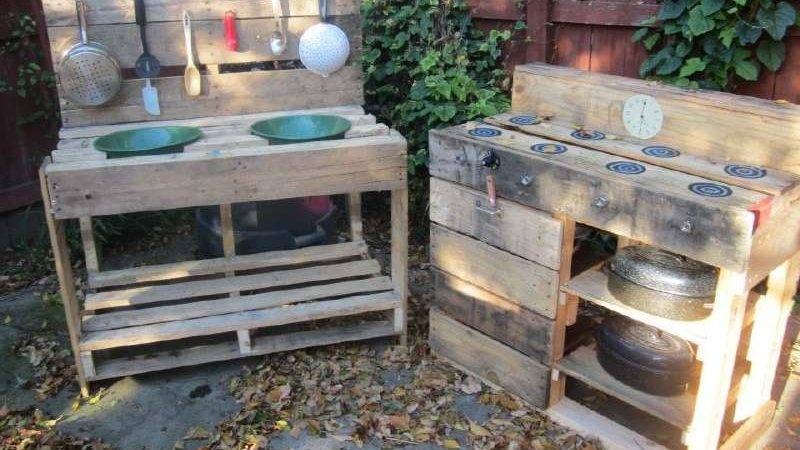 Instructions Build Play Kitchen Pallets Diy