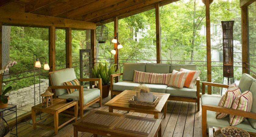 Interesting Back Porch Ideas Decorate Christmas