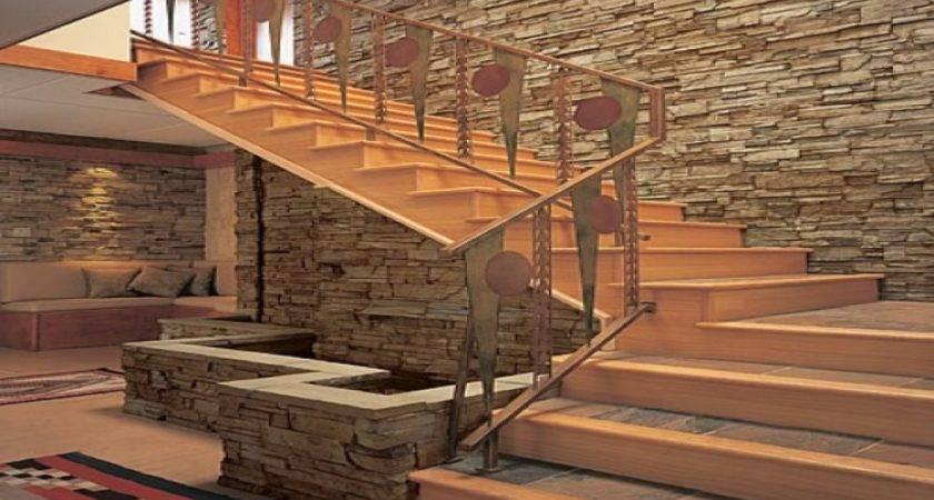 Interior Brick Veneer Design Stone Wall