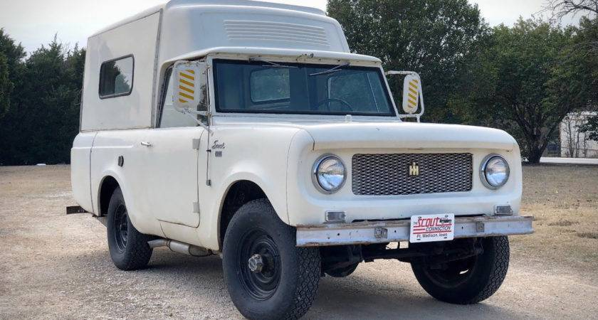 International Harvester Scout Camper Uncrate