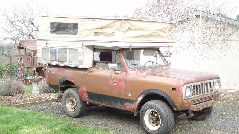 International Scout Camper