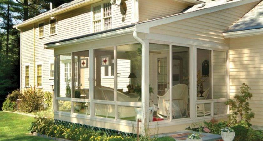 Inviting Porches Balconies Sunrooms Diy Deck