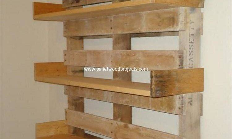 Its Easy Create Wooden Pallet Shelves Wood