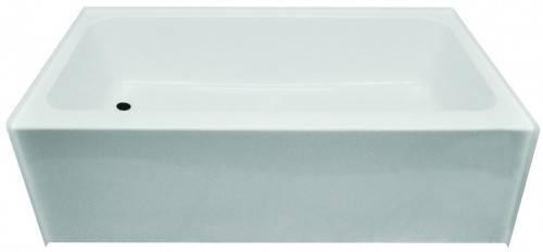 Kinro Mobile Home Tub Left Drain White