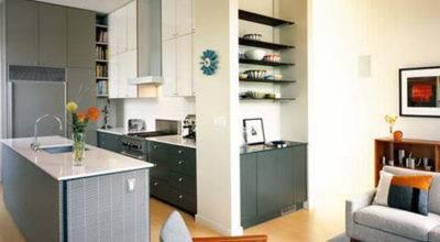Kitchen Living Room Designs Grasscloth