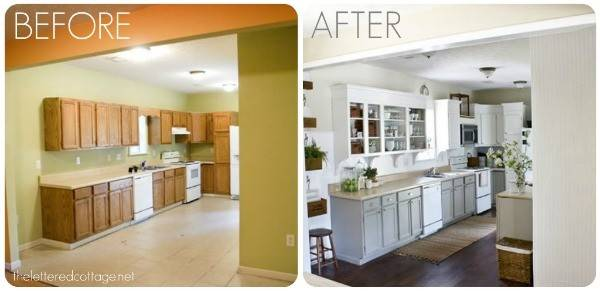 Kitchen Remodels Before After