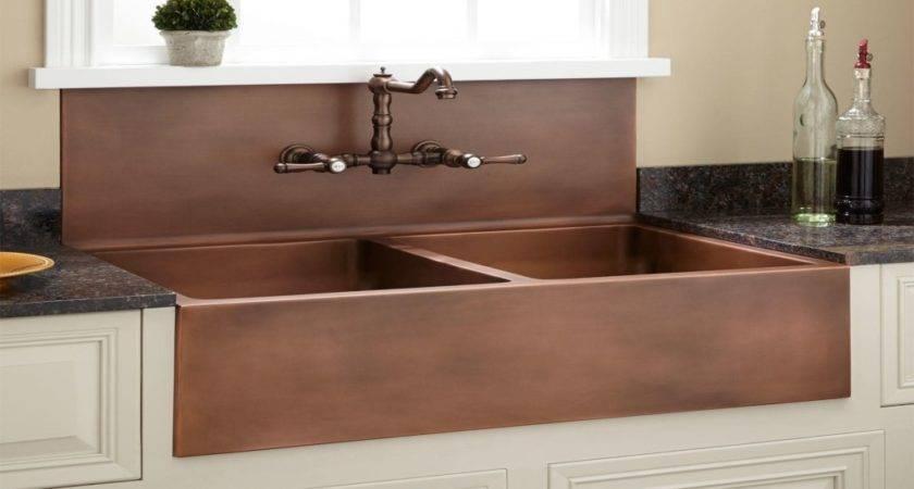 Kitchen Sink Double Farmhouse Backsplash
