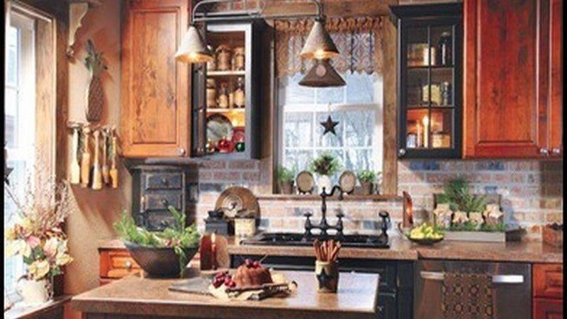 Kitchen Wall Decor Rustic Designs Cabinet Paint Colors