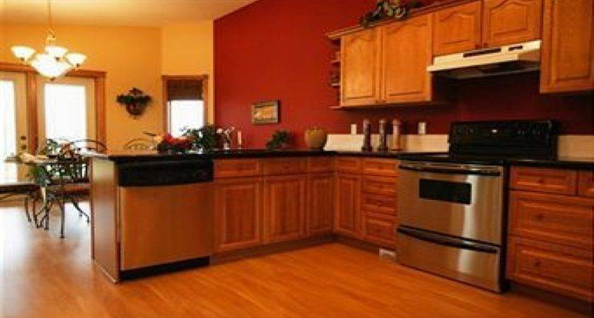 Kitchens Oak Cabinets Kitchen Wall Paint Colors