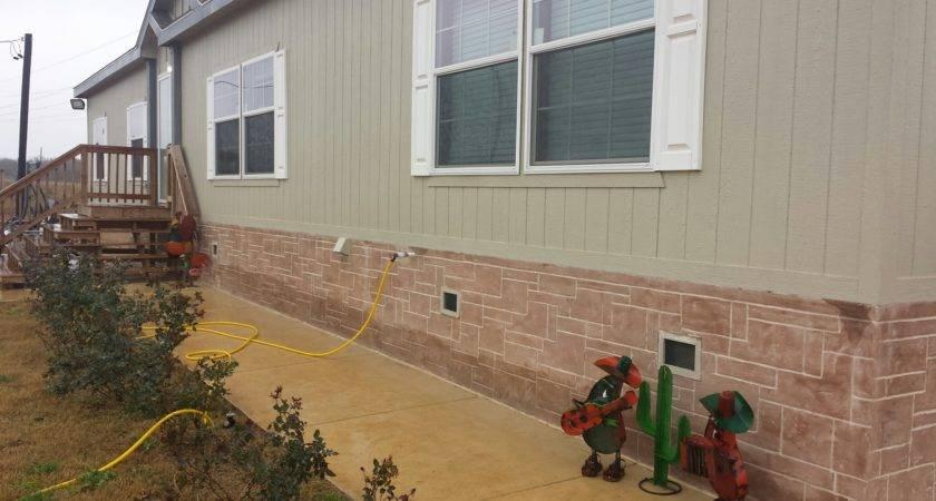 Lakeland Mobile Home Skirting Level