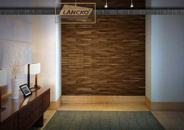 Lancko Walls Wood Tiles Wall Panel Wainscot