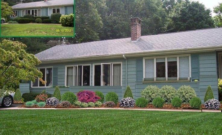 Landscaping Ideas Front Yard Raised Ranch Garden Design